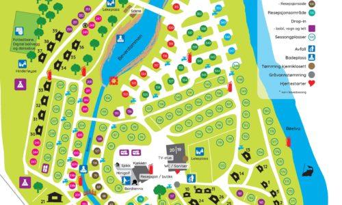 Beverøya kart 2021